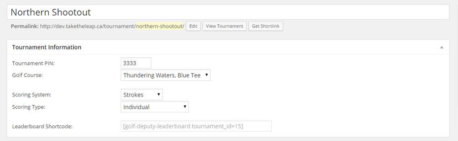 tournament-information